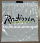 China Customized White PlasticDrawstringBags / Ribbon Drawstring Poly Bags wholesale