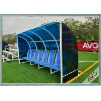 Buy cheap Weather Resistant Soccer Field Equipment Mobility Aluminum Soccer Coach Seat from wholesalers