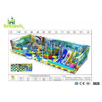 Anti Static Baby Indoor Playground Large Scale With EVA Flooring Mat