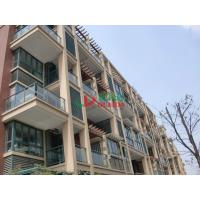 Buy cheap Plastic Wood Prefabricated Wall Mounted Pergola Moisture Resistance Environmental Friendly from wholesalers
