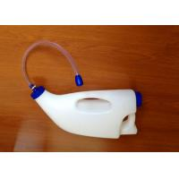 China Cows / Goats Plastic Feeding Bottles , 4L Capacities With Drinking Hose on sale