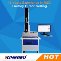 China Bend / Peel / Tensile Strength Universal Testing Machines 5KN With Computer Display wholesale
