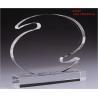 China OEM Plexiglass Elegant Contemporary Laser Engraving Custom Acrylic Awards, Trophy wholesale