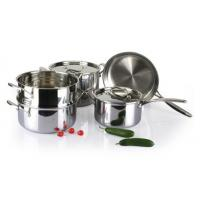 China 5Pcs 3-ply stainless steel cookware set SHCY-3013 wholesale