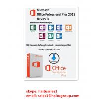 Buy cheap FPP Microsoft Office Product Key Codes , Office 2013 Professional Plus Key from wholesalers