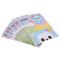 China Irregular Shape Paper Card Printing Holiday Card Printing Services Eco Friendly wholesale