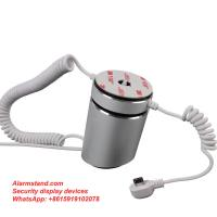 China COMER Hot sales anti-theft alarm mobile phone display security stand with alarm sensor cord wholesale