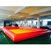 Orange Yellow Pvc Floating Inflatable Boat Swimming Kids Portable Swimming Pools Of Nflatablestoy