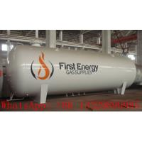 China factory sale best price CLW brand high quality 15000L LPG gas storage tank, 15m3 surface propane gas storage tank wholesale