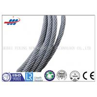 China High Carbon Galvanized Steel Wire Rope 7*7 For Cable Car / Belt Conveyer wholesale