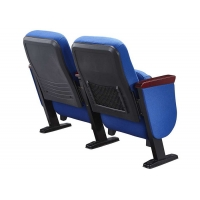 Folding Lecture Theater Hall Seats Small Back Auditorium Chairs For Sale