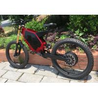 Buy cheap Mid Motor Drive Electric Mountain Bike Stealth , High Speed Bomber Electric Bike from wholesalers