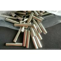 China Brass machined parts with nickel plating , barrel with various diameters available wholesale