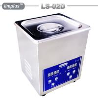 China 2 Liter Table Top Ultrasonic Cleaner / Dental Ultrasonic Bath Digital Timer And Heater wholesale