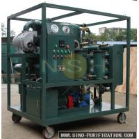 China Touch Screen Vacuum Oil Purifier Fully Automatic Insulating For High Voltage Transformer wholesale