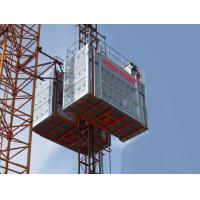 China Builders Construction Hoist Elevator , Industrial Elevators And Lifts wholesale