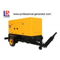 Buy cheap 200kVA Silent Trailer Generator Set with Radiator Cooled Electrical Cummins Engine from wholesalers
