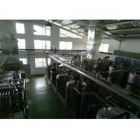 China Bottled Package Beverages Pasteurized Milk Processing Line , Milk Processing Machine wholesale