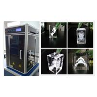 China 800W 3D Glass Crystal Laser Engraving Machine , Sub Surface Engraving Equipment wholesale