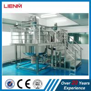 China Hot sale liquid soap mixing tank detergent making dishwashing liquid machine price  hand sanitizer making machine CE wholesale