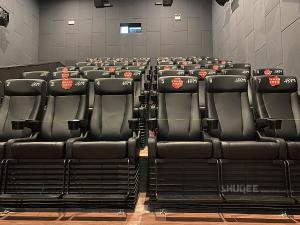 China Strong Tech 4D Cinema Motion Seats Leather Chair Customizable Logo wholesale