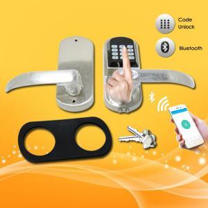 China Bluetooth Password Door Lock , Smart Entry Door Locks For Small Businesses wholesale