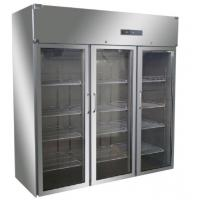 China 1500 L Blood Bank Equipments Upright Glass Door Freezer 2-8c CE Passed wholesale