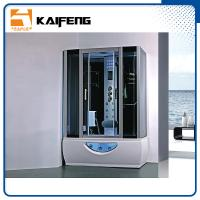 China Multifunctional Rectangular Shower Enclosure With Whirlpool Tub Computer Control wholesale