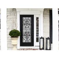 Buy cheap European Style Custom Design Decorative Door Glass Inserts Excellent Climate Resistance from wholesalers