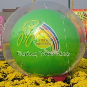 China Reusable Versatile Digital Printing Green Inflatable Helium Ballon, Inflate Ground Balloon wholesale
