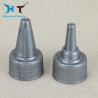 China Small Plastic Push Pull Caps 28mm 32mm For Hair Liquid Dispensing Bottle wholesale