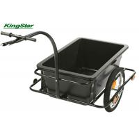 Buy cheap 80 KG Cargo Luggage Heavy Duty Garden Cart Bicycle Handle Drawbar Carries from wholesalers