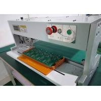 China 500-800μM PCB Depaneling Equipment Low Force Stress Moving Circular Blade AC 110/220V on sale