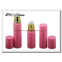 China On The Way To The Bottle Injection Section In The Pink Gold Plating Airless Dispenser Bottles wholesale