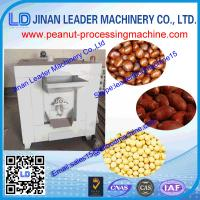 China Portable rotary drum peanut roaster machine for roasting sesame seed  soybean Supplier