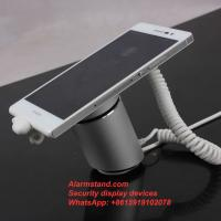 China COMER security protection for single one port alarm for iphone with charging stand exhibition wholesale