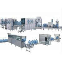 China Completely Automatic 5 Gallon Water Bottle Filling Machine Electric / Pneumatic Driven wholesale