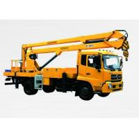 China Three telescopic arms can expand Boom Lift Truck Lifting Capacity 5000 XZJ5110JGK on sale