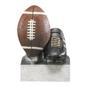 China Resin football trophy award wholesale
