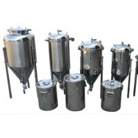 China Common Diy SS Home Beer Making Equipment With Vacuum Relief Valve wholesale