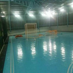 China indoor sport court flooring indoor basketball court volleyball plastic interlock sport court wholesale