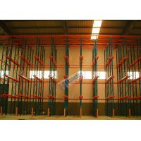 China Warehouse Storage System Drive In Racking For Large Volume Identical Goods wholesale