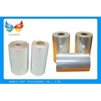 China High Shrinkage 45 MICRON Transparency PVC Shrink Film For Label Printing wholesale