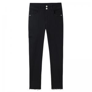 China BEIANJI OEM Low Waist Cropped Women′S Denim Jeans wholesale