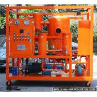 China Double Stage Vacuum Oil Purifier Machine 6000 Liters / Hour Insulation Oil Dehydration Machine wholesale