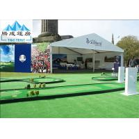 China 20x30m Waterproof Colorful Big Aluminum A Shaped Tent For Sports With Printing Logo wholesale