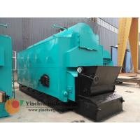 China 1-20 T/H Wood Biomass Fired Steam Boiler , Chain Grate Stoker Boiler wholesale