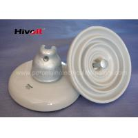 China ANSI 52-3 White Disc Suspension Insulator For Distribution Power Lines wholesale