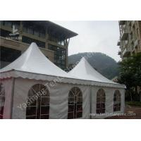 China Custom UV Resistant High Peak Tents 5x5 Canopy Tent , Wind 0.3kN/M2 wholesale