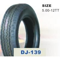 China Electric Tricycle Parts 5.00 - 12 Three Wheel Motorcycle Tire with 37%-56% Rubber Content wholesale